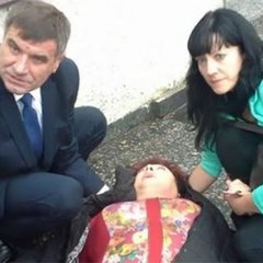 На Вінничині заступник мера побив депутатку (фото)