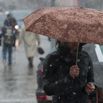 Погода на вихідні: в Україні дощі зі снігом, температура від -1 на заході до +14 в Криму