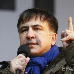 Саакашвілі про штурм Жовтневого палацу: Це була чиста провокація з метою дискредитувати наш мирний протест