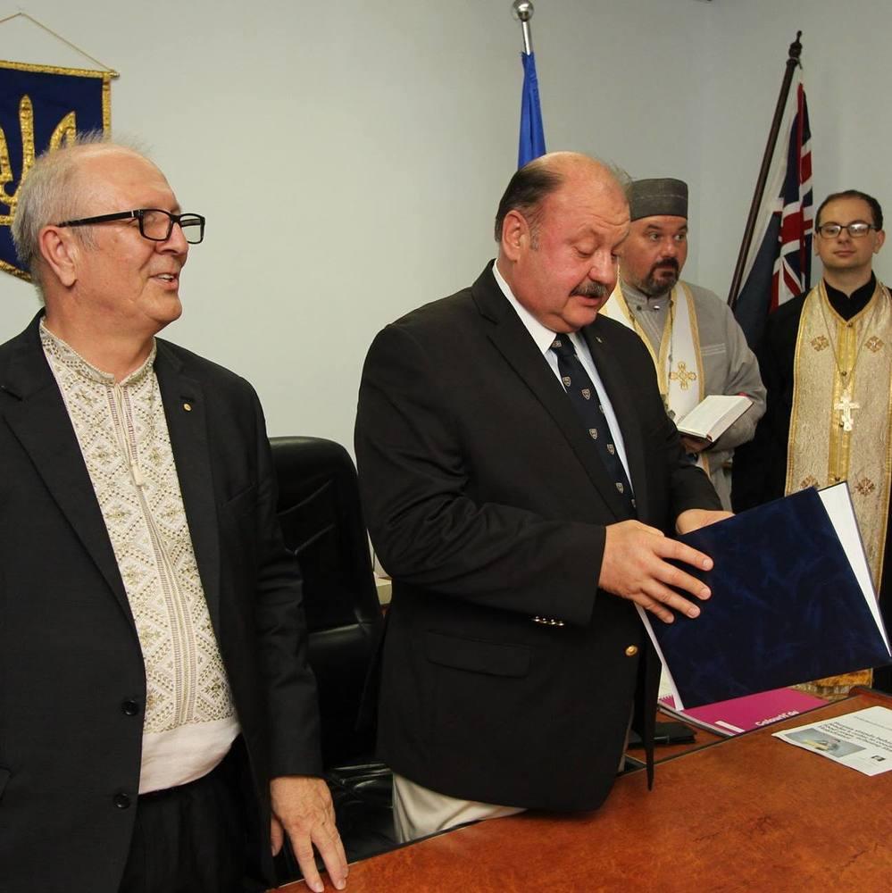 В австралійському Сіднеї відкрилось Почесне консульство України