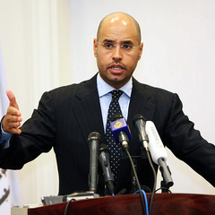 Син Муаммара Каддафі має намір балотуватися на пост президента Лівії