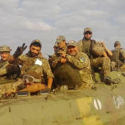 Позиції «Грузинського легіону» на Донбасі накрили артилерією, багато поранених
