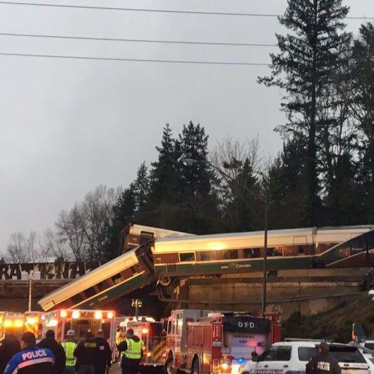 Сходження з колій поїзда у Вашингтоні: щонайменше 6 загиблих