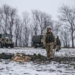 АТО: артобстріли на Луганському напрямку не припинялись