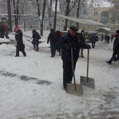 Громадський транспорт Києва курсує не за розкладом через сніг