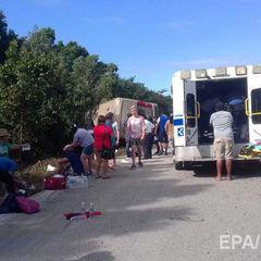 У Мексиці розбився автобус з іноземними туристами, 12 загиблих