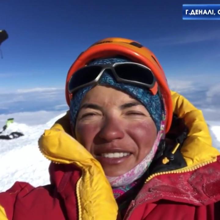 Українка вперше підкорила сім найвищих вершин світу