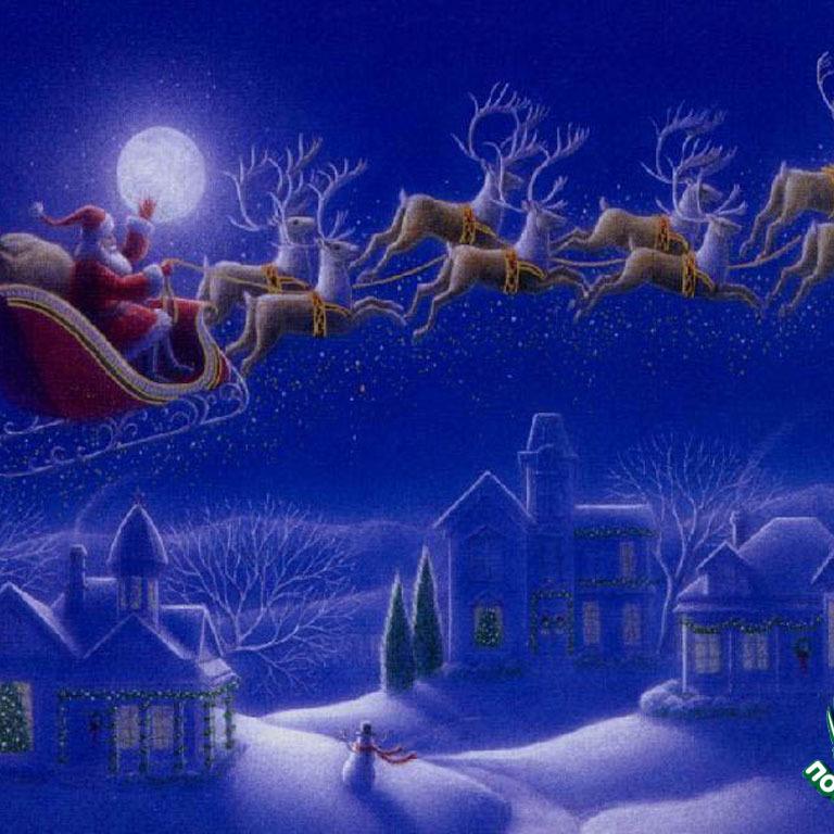 Напередодні Різдва над усім світом пролетів інтерактивний Санта (фото)