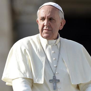Папа римський у різдвяному посланні згадав про дітей, які страждають через конфлікт в Україні