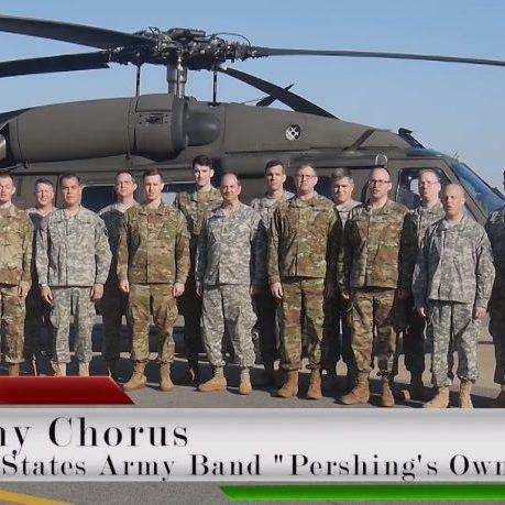 Збройні сили США виконали Щедрик Миколи Леонтовича (відео)