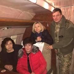 Делегація від України по звільненню заручників прямує на Донбас (фото)