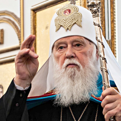 Філарет: Бог допоможе Україні перемогти агресора, бо з нами правда