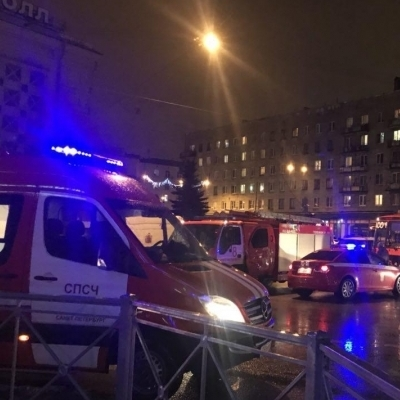 Путін назвав вибух у магазині в Петербурзі терактом