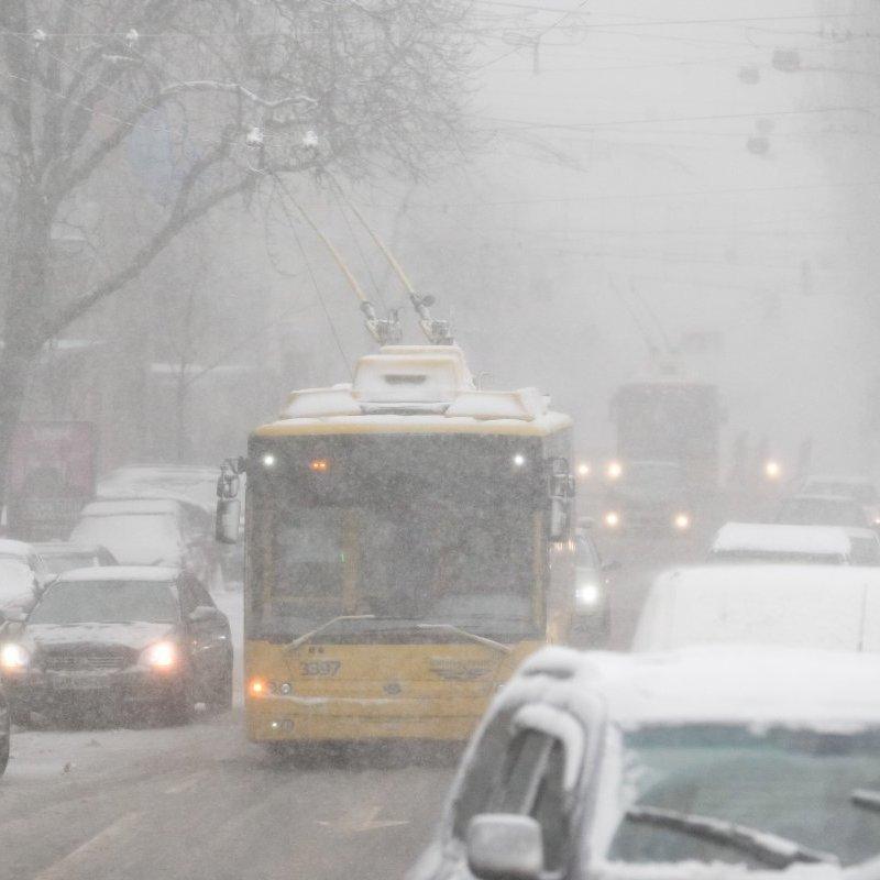 У Києві в період новорічних свят буде змінено графік руху тролейбусів