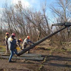 У двох прифронтових селах відновили електропостачання (фото)