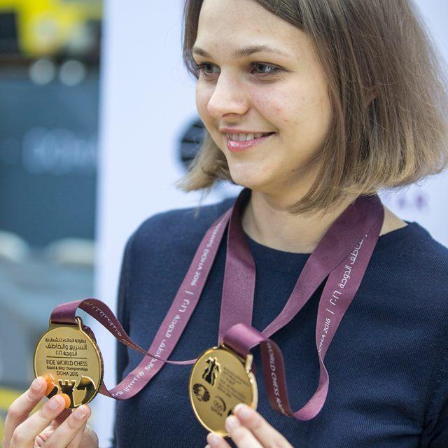 Допис шахістки Анни Музичук у Facebook став найпопулярнішим постом року