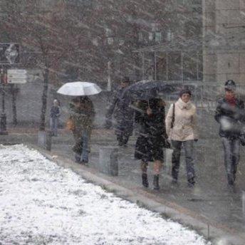 На Україну сунуть дощі з мокрим снігом