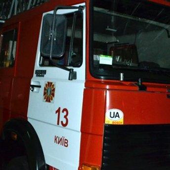 У Києві зайнялося полум'ям кілька кіосків