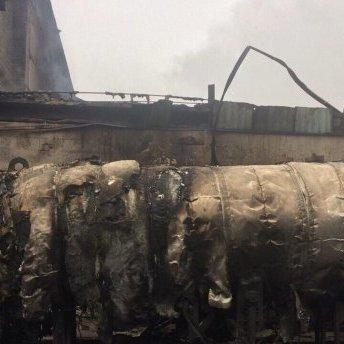 Цистерна з газом вибухнула на Дніпропетровщині