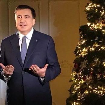 Саакашвілі заявив, що телеканал ZIK транслюватиме у новорічну ніч його привітання
