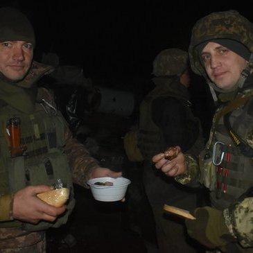Як українські десантники посмажили шашлики на Новий рік (фото)