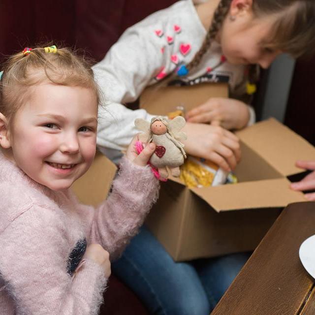 Українці Польщі провели акцію для дітей героїв АТО «Свята без тата»