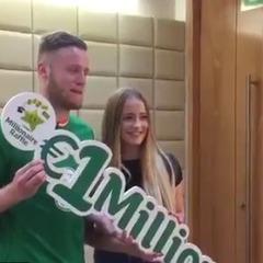 Ірландський футболіст виграв мільйон євро в лотерею