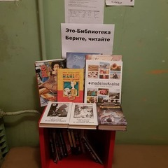 У Києві мешканець будинку облаштував у під'їзді міні-бібліотеку (фото)