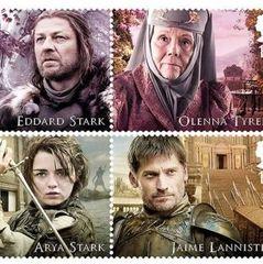Герої «Гри престолів» з'являться на марках