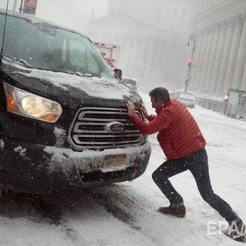 У Нью-Йорку через снігопади оголосили надзвичайний стан