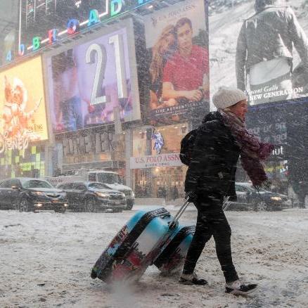 У США через сильні морози загинуло 12 людей