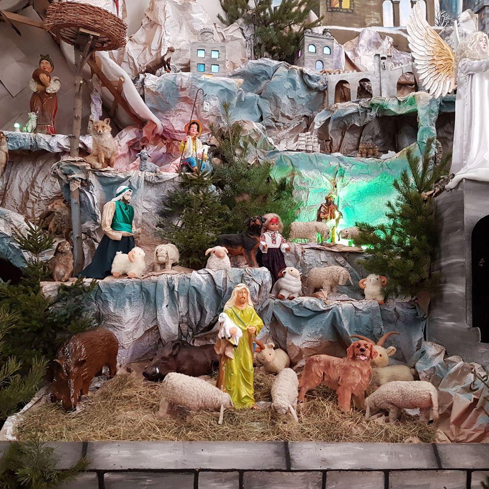 У Тернополі встановили рекордну Різдвяну шопку (фото, відео)
