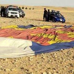 У Єгипті розбилася повітряна куля: моторошне відео
