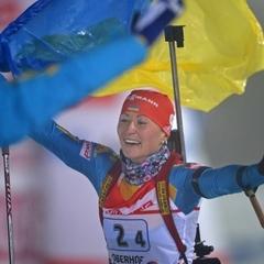 Українська біатлоністка Віта Семеренко завоювала бронзу в гонці переслідування на етапі Кубка світу в Німеччині