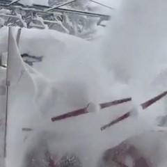 Внаслідок снігопаду в Альпах заблоковано понад десять тисяч людей