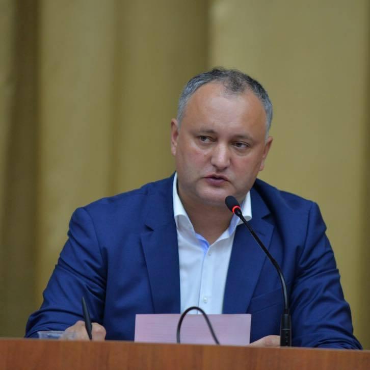 Моліться: Додон пригрозив молдовському уряду і більшості ударом у відповідь