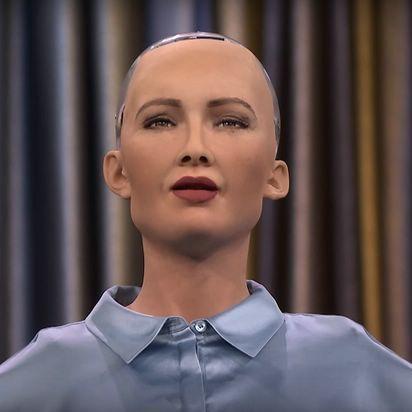 Робот Софія виступить з промовою в Українському Домі в Давосі