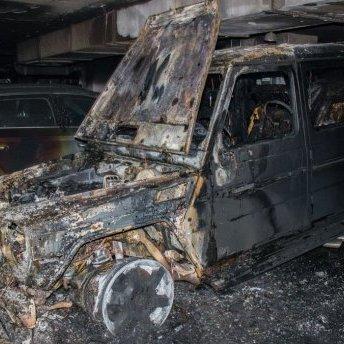 Невідомі спалили авто громадського контролера справи Ноздровської
