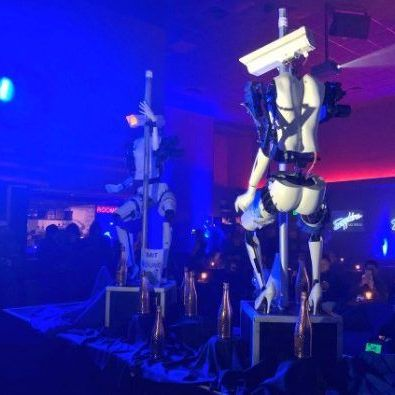 У Лас-Вегасі показали роботів-стриптизерок