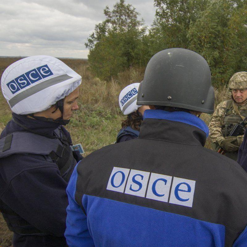 Представники місії ОБСЄ за добу зафіксували 414 вибухів на Донбасі