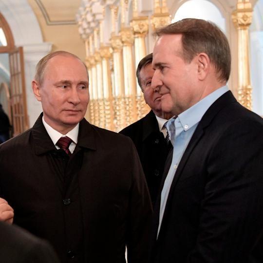 Путін та Медведчук обговорили другий етап обміну полоненими на Донбасі - росЗМІ