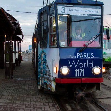 Водійка трамваю веде свій відеоблог про Львів (фото)
