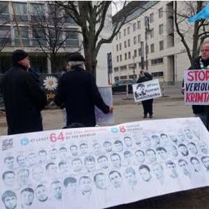 В Берліні пройшла акція на підтримку кримських татар