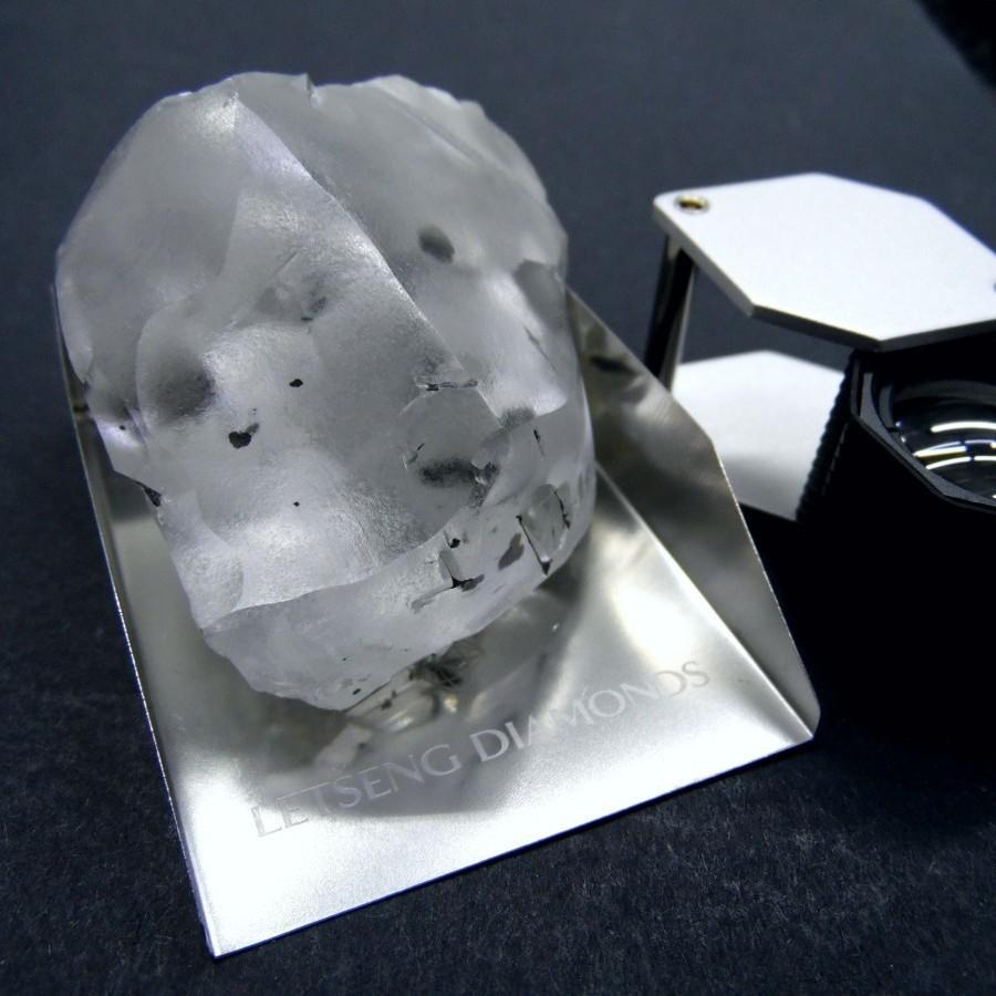 В Африці знайшли п'ятий за величиною у світі алмаз (фото)