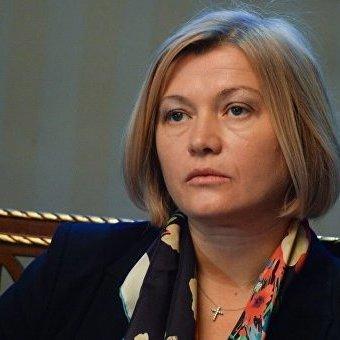 Геращенко надала інформацію про кількість поправок до законопроекту щодо реінтеграції Донбасу