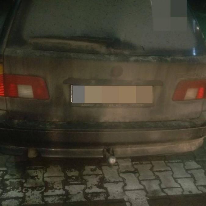 На в'їзді в Україну виявили викрадений у Німеччині BMW