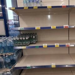 Надзвичайна ситуація у Черкасах: люди спустошили полиці магазинів із водою (фото)