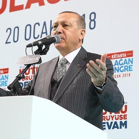 Ердоган оголосив про фактичний початок антитерористичної операції в сирійському Афріні