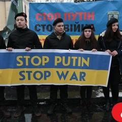 У Львові пройшла акція STOP PUTIN STOP WAR (фото)