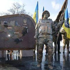 У Нікополі встановили пам'ятник бійцям АТО, створений за допомогою 3D-друку